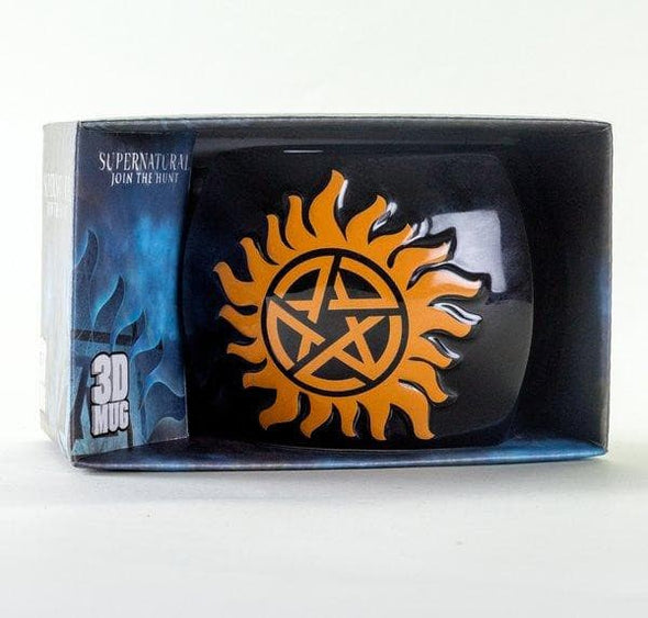 Supernatural - 3D Caneca Anti Possession