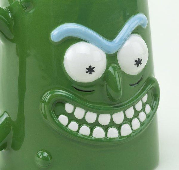 Rick And Morty - Caneca 3D Pickel Rick Popstore