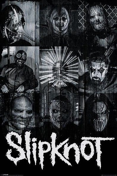 Slipknot - Poster Máscaras