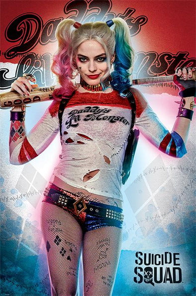 Harley Quinn - Poster Daddy's Lil Monster Popstore