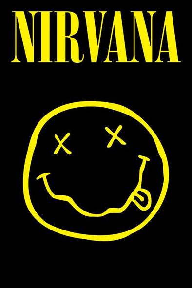 Nirvana - Poster Smiley