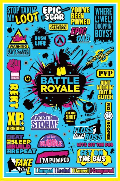 Battle Royale - Poster - Popstore