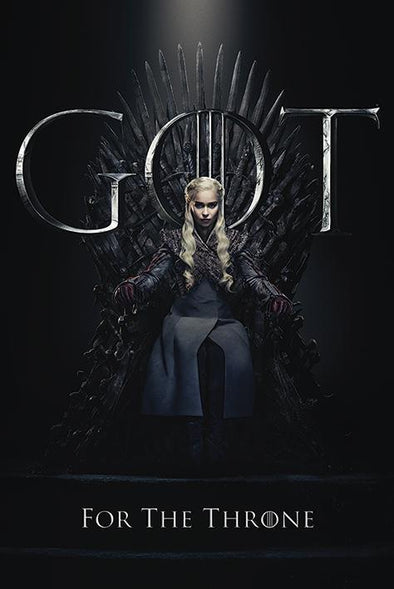 Game of Thrones - Poster Daenerys For The Throne Popstore