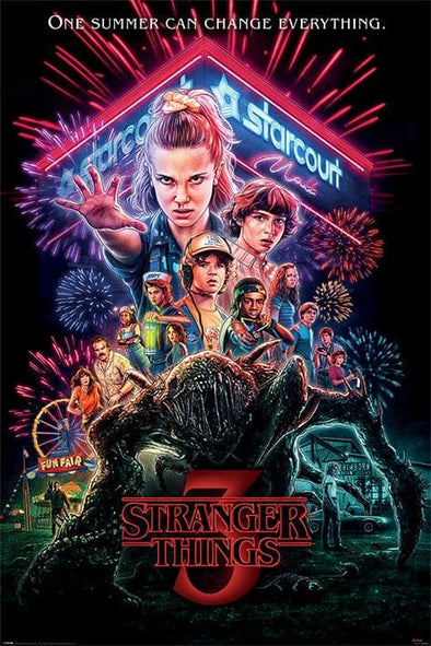 Stranger Things - Poster S3 Summer of 85 Popstore