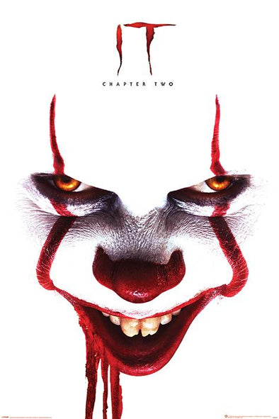 IT - Poster Chapter 2 Pennywise Cara - Popstore