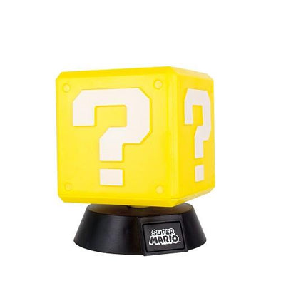 Super Mario - Candeeiro Question Block V2 Popstore