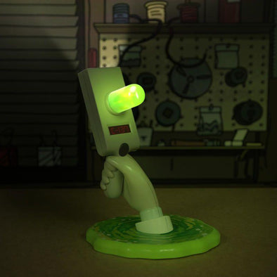 Rick and Morty - Candeeiro Portal Gun Popstore