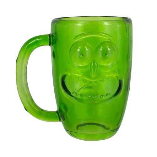 Rick And Morty - Caneca Pickle Rick Glass Popstore