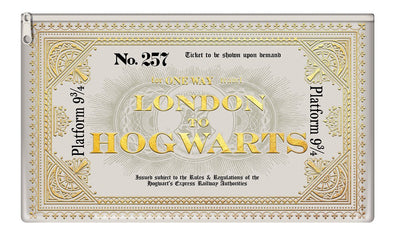 Harry Potter - Estojo Hogwarts Express Ticket - Popstore