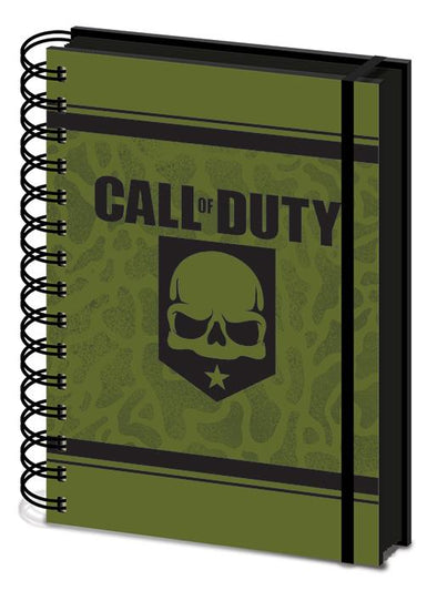 Call of Duty - Notebook Evergreen Skull Popstore