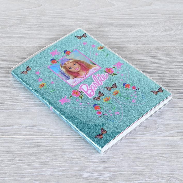 Barbie - Notebook Glitter PVC Popstore