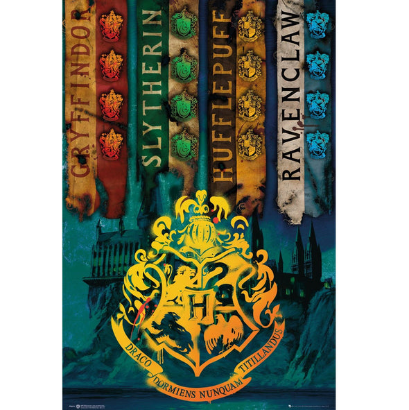 Harry Potter - Poster Houses Popstore