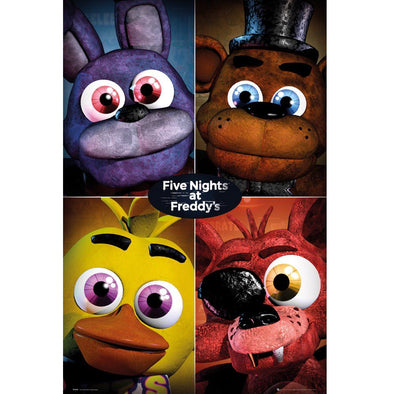 Five Nights At Freddy's - Poster Quad Popstore