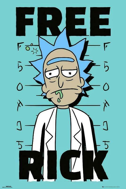 Rick and Morty - Poster Free Rick - Popstore