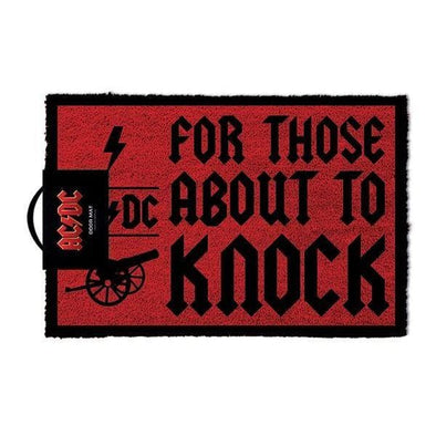 AC/DC - Tapete For Those About To Knock - Popstore