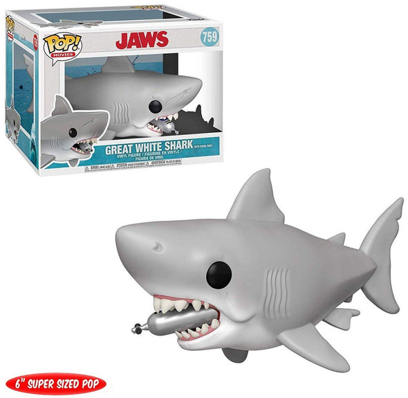 Jaws - POP! Great White Shark w/ Diving Tank FUNKO