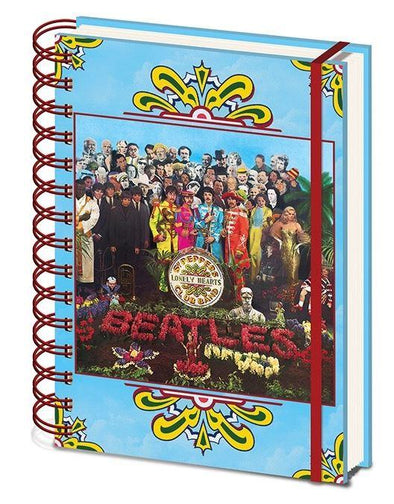 Beatles - Notebook Sgt Peppers Popstore