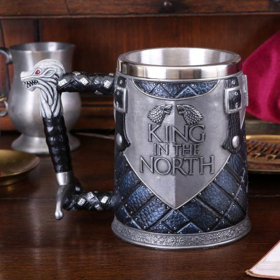 Game of Thrones - Caneca Premium King in the North Popstore