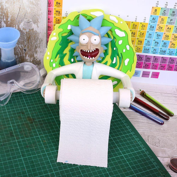 Rick and Morty - Suporte para Papel Higiénico Rick - Popstore