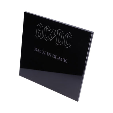 AC/DC - Back In Black Crystal Clear Picture Popstore