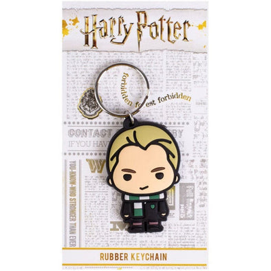 Harry Potter - Porta-Chaves de Borracha Draco Malfoy Chibi
