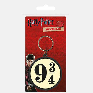 Harry Potter - Porta-Chaves de Borracha 9 3/4 Popstore