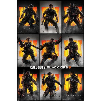 Call of Duty - Poster Characters Popstore