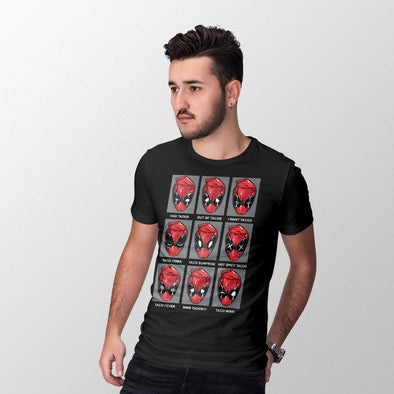 Deadpool - T-shirt Tacos Popstore