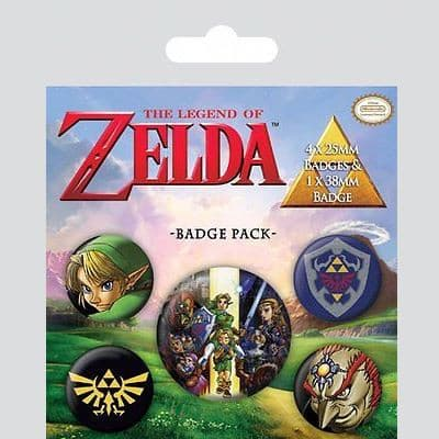 The Legend of Zelda - Pins Popstore