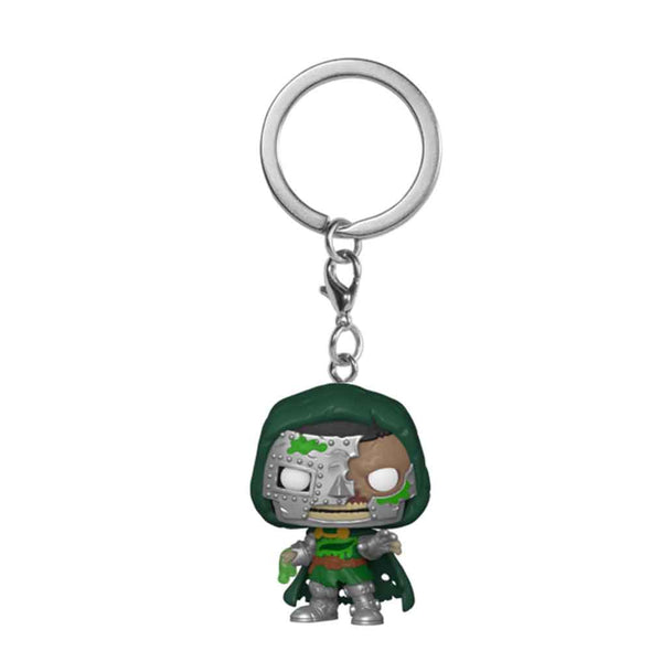 Marvel - Porta-Chaves POP! Zombie Doctor Doom *Pré-venda*