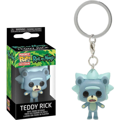 Rick and Morty - Porta-Chaves POP! Teddy Rick