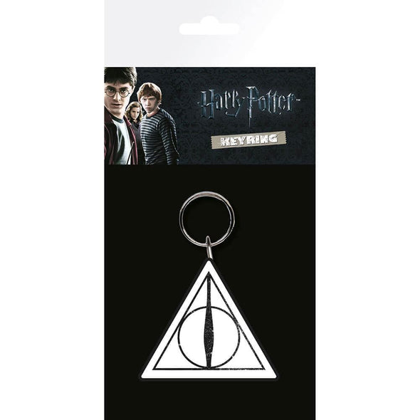 Harry Potter - Deathly Hallows - Porta-Chaves de Borracha
