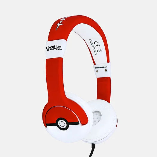 Pokémon - Headphones Júnior (Pokeball)-#