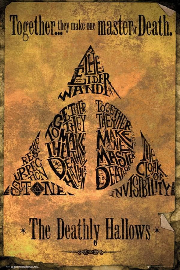 Harry Potter - Poster The Deathly Hallows Popstore