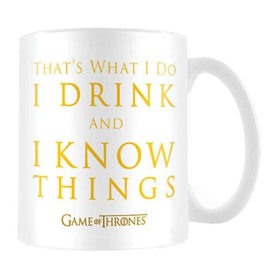 Game of Thrones - Caneca I Drink And I Know Things Popstore