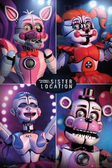 Five Nights At Freddy's - Poster Sister Location Quad - Popstore
