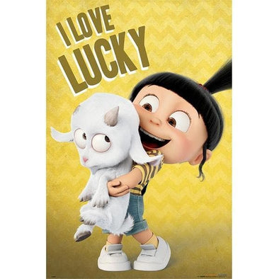 Minions - Poster I Love Lucky - Popstore