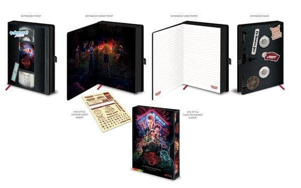Stranger Things - Notebook Premium VHS Season 3 Popstore