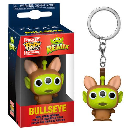 Toy Story - Porta-Chaves POP! Alien Remix Bullseye FUNKO