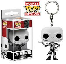 Nightmare Before Christmas - Porta-Chaves POP! Jack