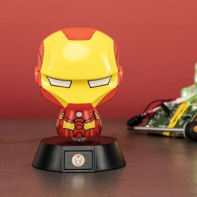 Iron Man - Candeeiro Icon Popstore