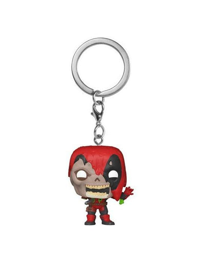 Marvel - Porta-Chaves POP! Deadpool Zombie FUNKO