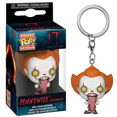 IT - Porta-Chaves POP! Pennywise with Dog Tongue - Popstore