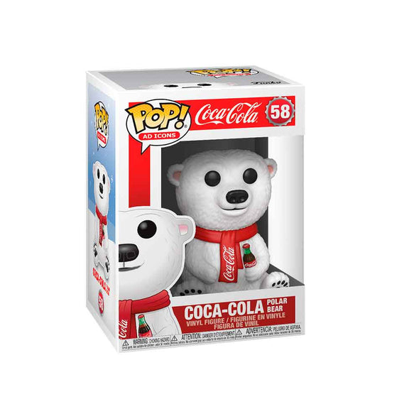 Coca-Cola -POP! Polar Bear *Pré-Venda*