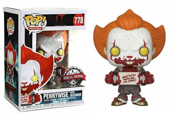IT - POP! Pennywise Skateboard