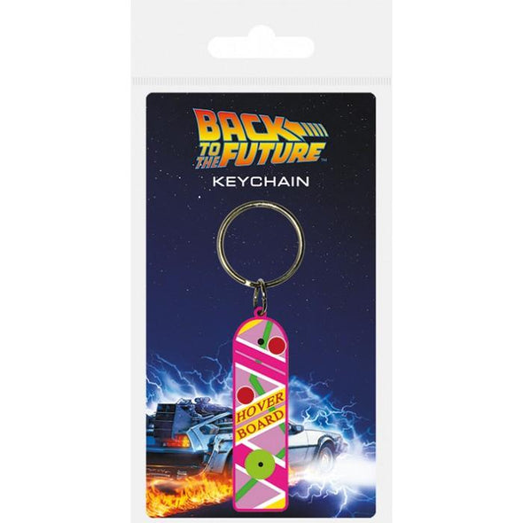 Regresso ao Futuro - Porta-Chaves de Borracha Hoverboard Popstore
