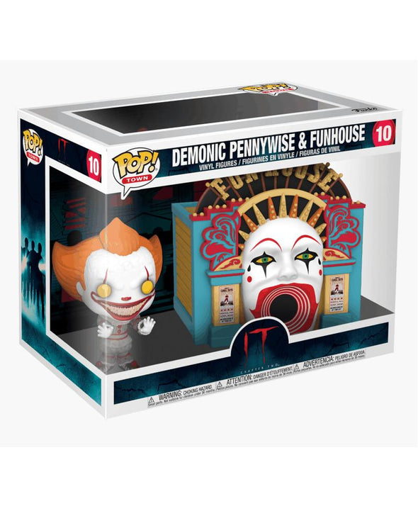 IT - POP! Demonic Pennywise w/Funhouse FUNKO