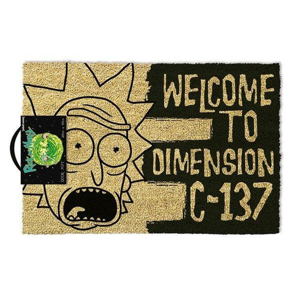 Rick And Morty - Tapete Dimension C-137 Popstore