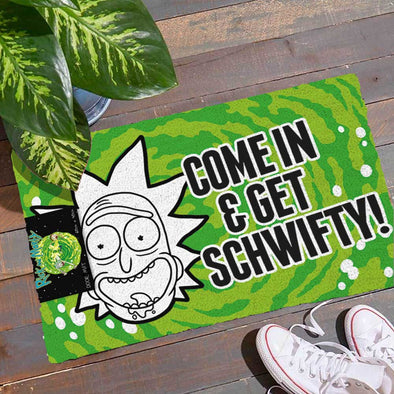 Rick And Morty - Tapete Get Schwifty Popstore