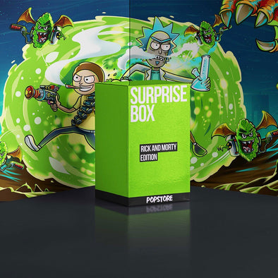 Surprise Box - Rick and Morty Edition Popstore